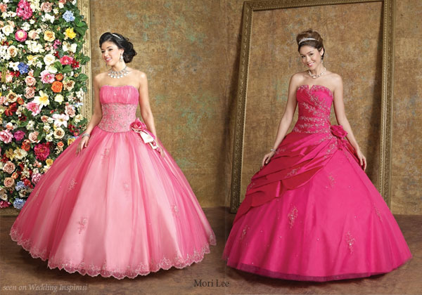 Wedding Dresses Hot Pink - Wedding Dresses In Jax